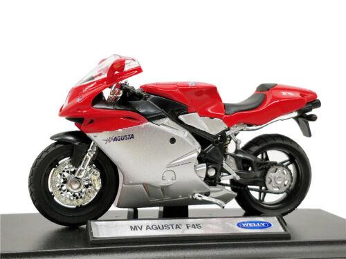 Welly 1:18 MV AGUSTA F4S Diecast Moto