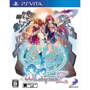 D3-Publisher-Omega-Labyrinth-Z-PS-Vita-SONY-PLAYSTATION-JAPANESE