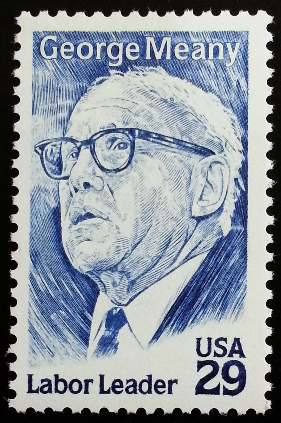 1994 29c George Meany, Labor Leader Scott 2848 Mint F/V