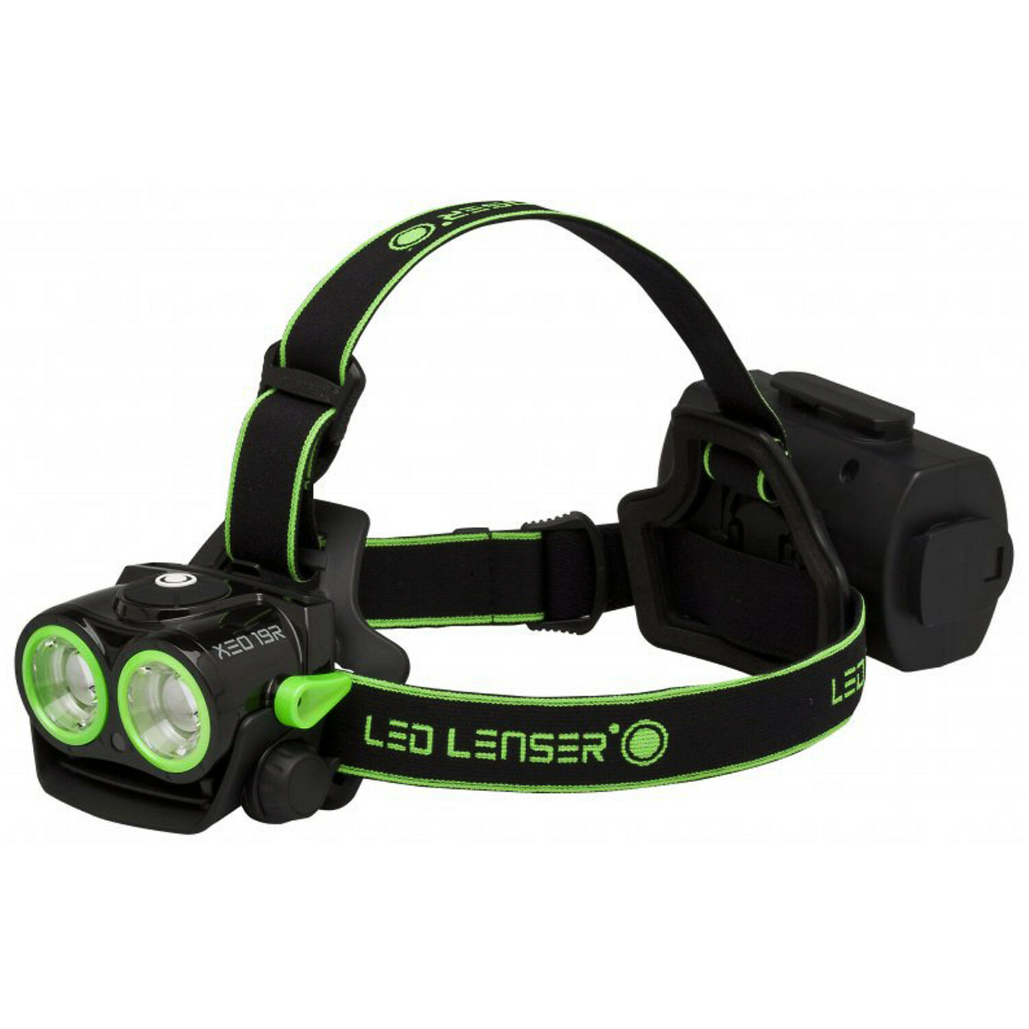 NEW LED Lenser XE019R Green Rechargeable Headtorch - XEO19R