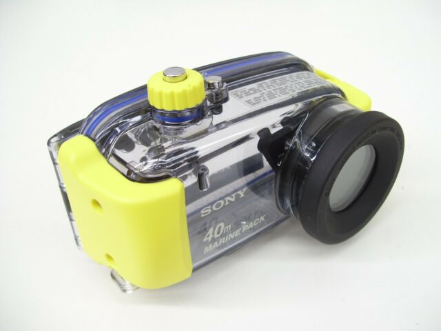 SONY MPK-PHA UNDERWATER CAMERA HOUSING CYBERSHOT DSC-P8 DSC-P10 WATERPROOF CASE