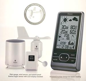 Details about Oregon Scientific Multi-sensor Professional Weather Station  WMR86NX 2018 model