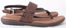 Born Concept B.O.C. Z09406 Strappy Slingback Buckle Thong Sandals Women's US 10M