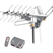 LAVA HD2605 HDTV Digital Rotor Amplified Indoor Outdoor TV Antenna HD UHF VHF FM