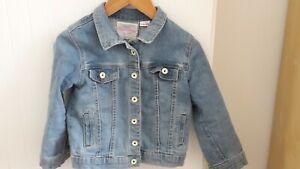meilleure sélection 7a9d8 ffb77 Détails sur veste en jean fille zara 3/4 ans