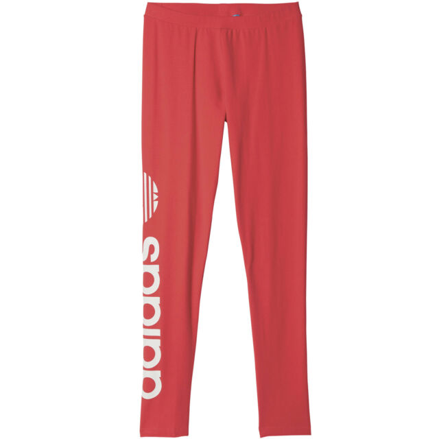 adidas Originals linear Leggings Damen rot 36 AY8108