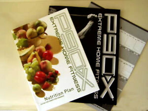 Details about P90X - Fitness Guide + Nutrition Guide + Workout Calendar -  No DVD's Included