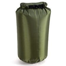 ARMY GREEN 10L DRY SACK WATERPROOF BAG FOLD BAG CANOE KAYAK SWIM SAIL RAFT BOAT