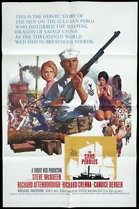 THE-SAND-PEBBLES-Original-US-One-sheet-Movie-Poster-Steve-McQueen