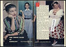 1958 TV ARTICLE~ANN B.DAVIS~ALICE on BRADY BUNCH~SCHULTZY on BOB CUMMINGS SHOW