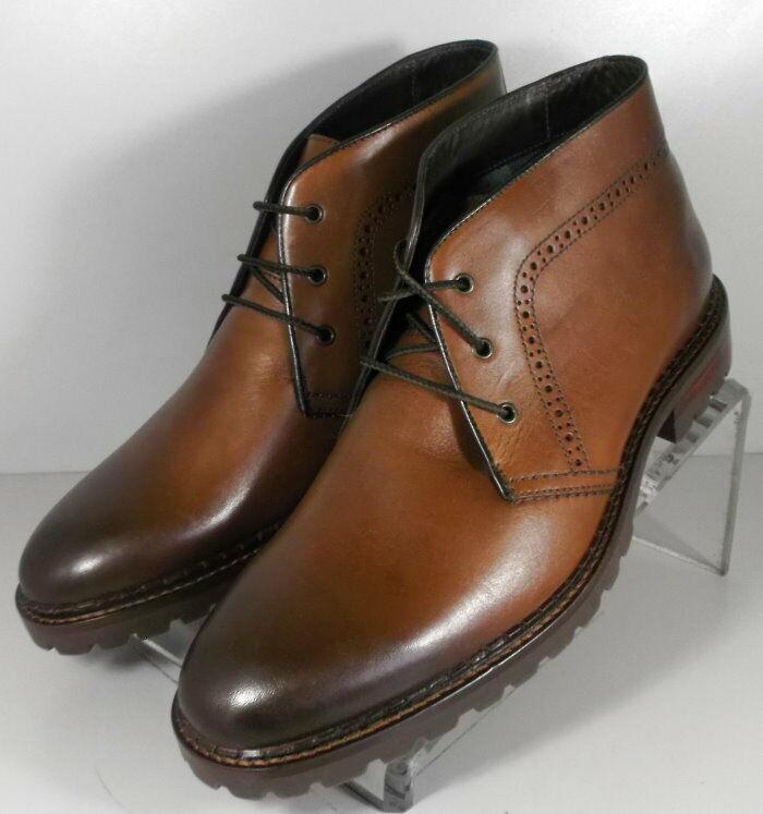 20NP218193 SPBT 50 Chaussures Hommes Taille 9 m Marron Bottes en cuir Johnston & Murphy
