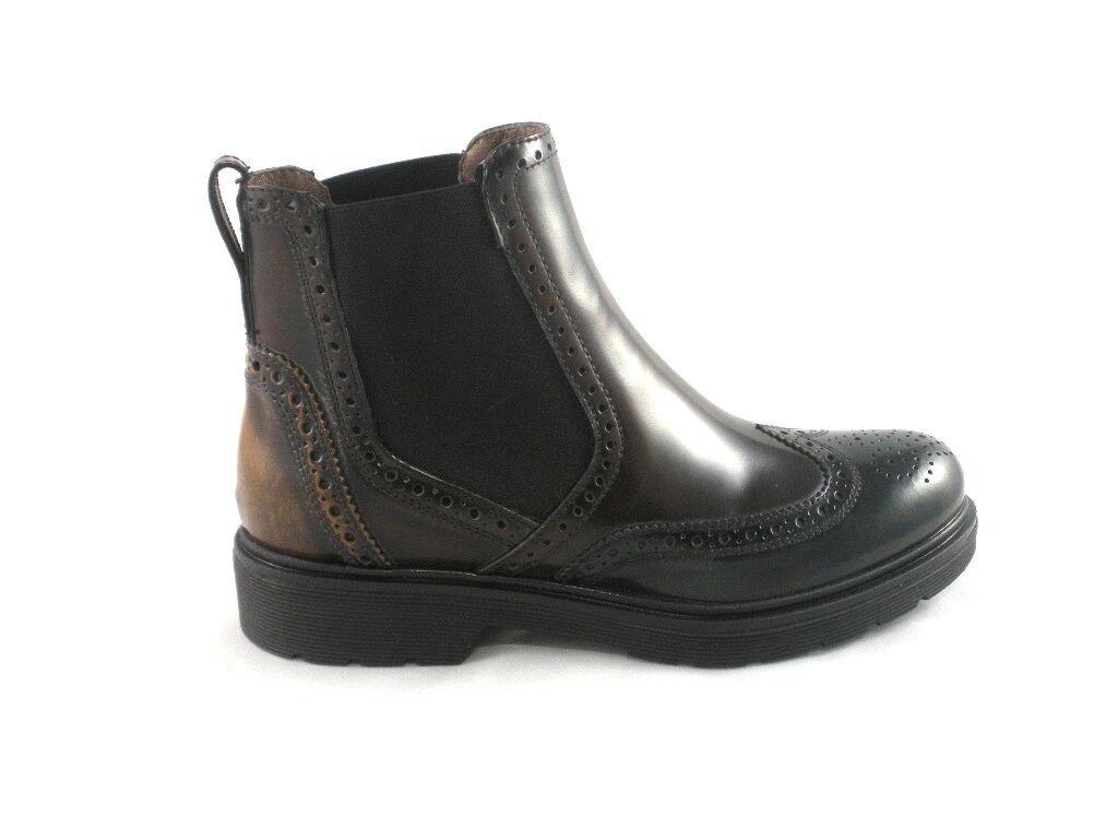 Zapatos especiales con descuento TRONCHETTI NERO GIARDINI DONNA STILE INGLESE MULTICOLOR A616171D MADE IN ITALY