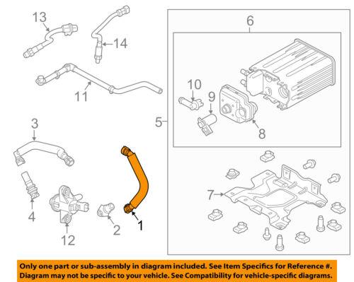 FORD OEM 11-16 F-250 Super Duty 6.2L-V8 Emission-Crankcase Tube AL3Z6758A