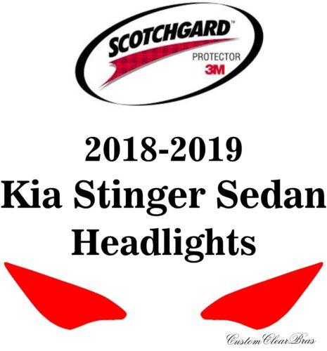 3M Scotchgard Paint Protection Film Pre-Cut Fits 2018 2019 Kia Stinger Sedan