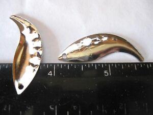 10 #3  Willow HEX Blades **/<Both Nickel plated brass /& Brass/>** 5 EACH
