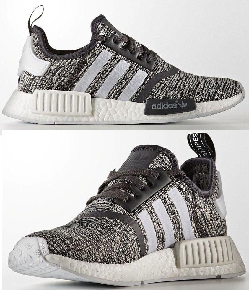Adidas originali nmd r1 glitch corridore donna spinta maglie glitch r1 mimetico - grigio - nero nuova cc5730