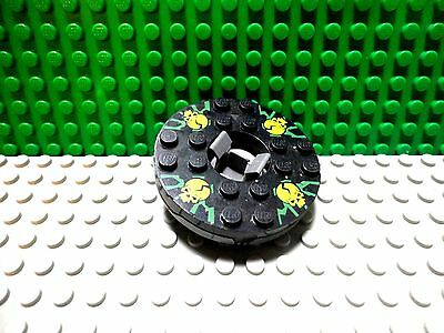 LEGO NINJAGO SPINNER WEAPON DARK GRAY SPINNER BLADES WITH ATTACHMENT PIN X3
