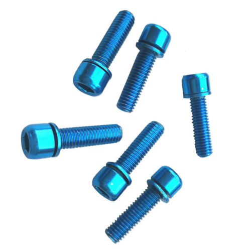 6x MTB Road Bike Hex Socket Screws Bolts for Bicycle Disc Brake Caliper