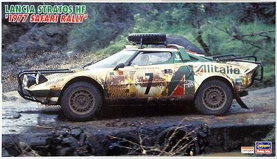 Hasegawa CR36 Lancia Statos HF 1977 Safari Rally 1/24 scale kit
