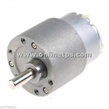 30 RPM Motor Metal Body Side Shaft for Robotics Free 1 Pc Motor Clamp Fitting