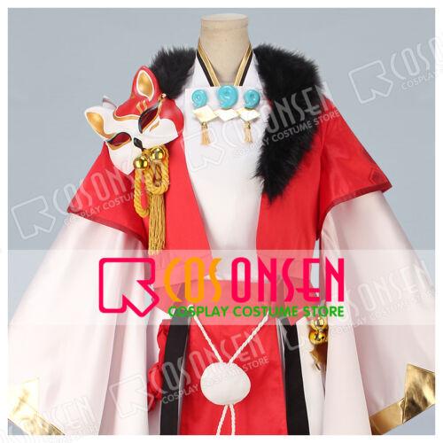 Cosonsen Game Onmyoji Youko Default Cosplay Costume All Size New