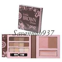 Pop Beauty Little Brown Dress Face Lips Eyes & Sealed
