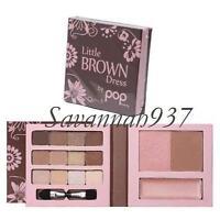 Pop Beauty Little Brown Dress Face Lips Eyes & Sealed
