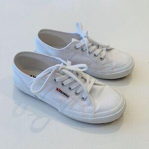 Superga Cotu Classic White 37 | eBay