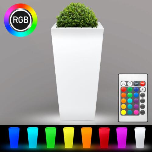 v30c DEL Pot de fleurs RGB Batterie bac à plantes cache-pot bac à fleurs éclairage
