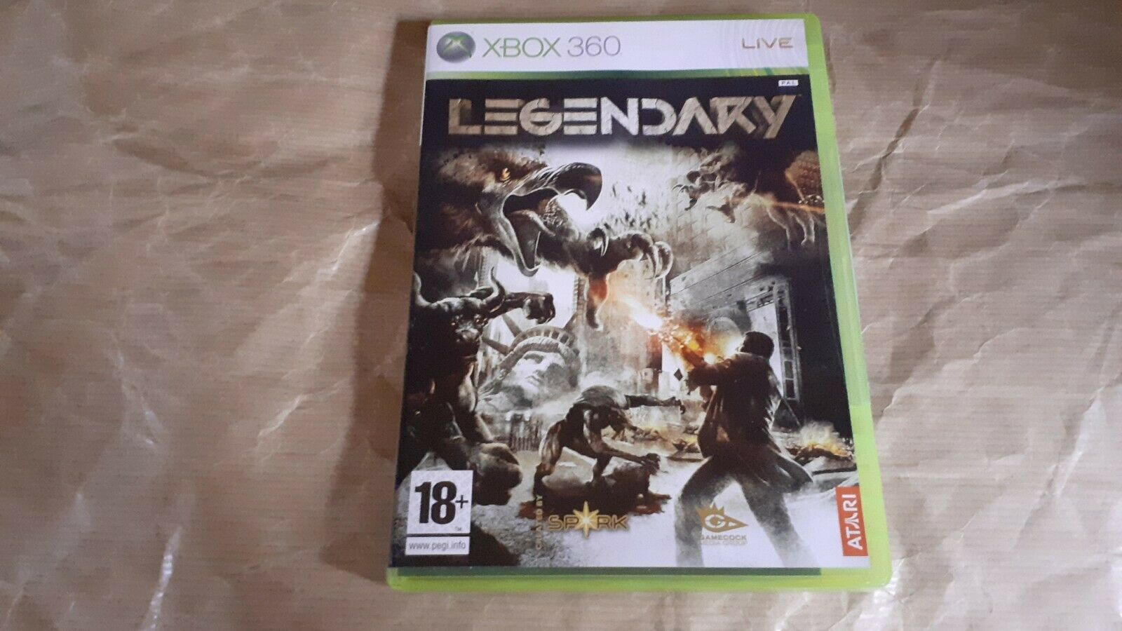 LEGENDARY XBOX 360 - PAL ESPAÑA - PRECINTADO