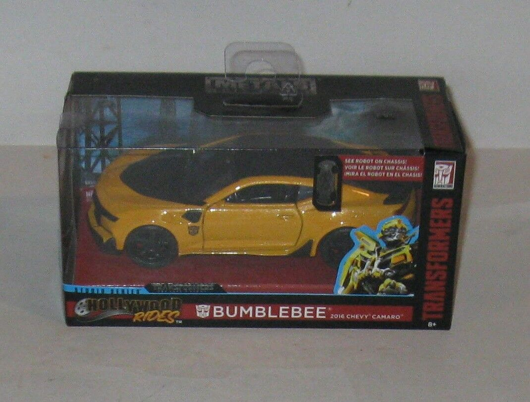 Transformers Bumblebee 2016 Chevy Camaro Jada Toys MB  FREE SHIPPING