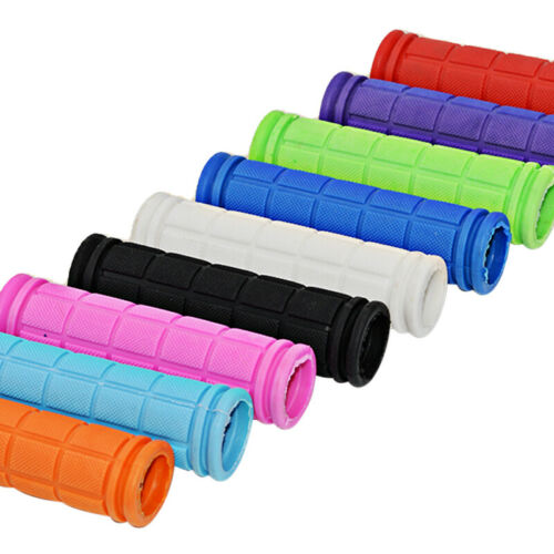 Soft Bike Handle bar Grips Hand Grip MTB BMX Cycle Road Mountain Scooter