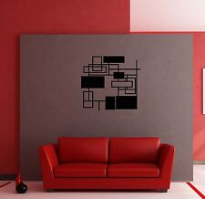 Wall Stickers Vinyl Decal Modern Abstract Geometrical Shape for Bedroom z1245
