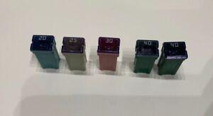 VAUXHALL-OPEL-ASTRA-H-MK5-ZAFIRA-20-25-30-40-AMP-A-SLOW-BLOW-FUSE-LITTEL-SET