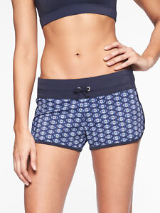 fc4730a746 ATHLETA Tangier Kata Swim Short, NWOT, Large, Navy Blue, Sold Out in ...