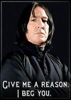 1 X Harry Potter - Professor Severus Snape - Refrigerator Magnet, New, Free Ship on sale