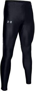 NWT-Under-Armour-Mens-UA-Mileage-Tights-Black-1327127-001-XL-Heatgear-60