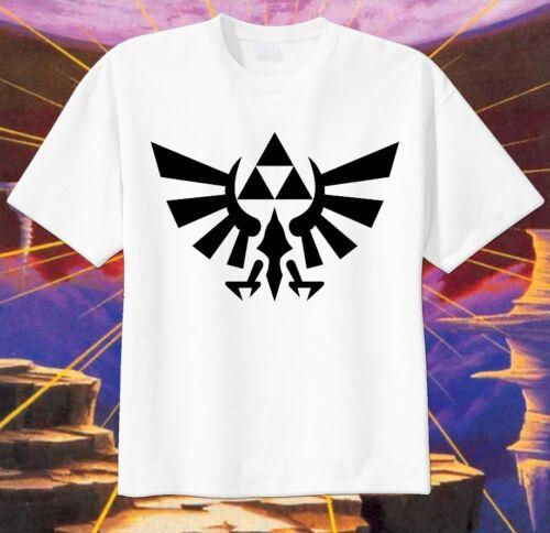Legends of Zelda LOGO Custom T-shirt Personalize tshirt Birthday gift