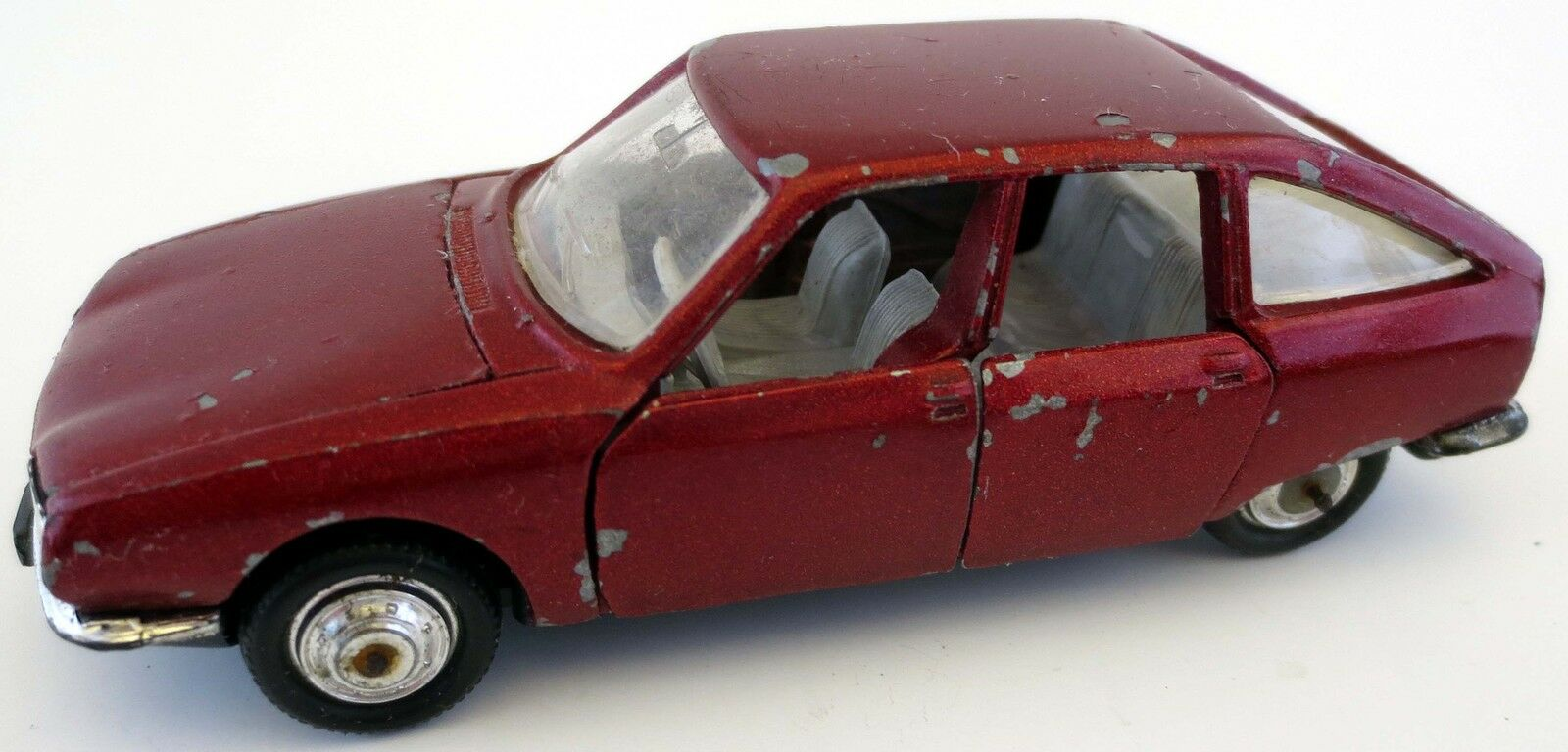Norev Jet Car Model 810 Citroen GS Limousine 1 43 1 43 rot metallic  | München Online Shop