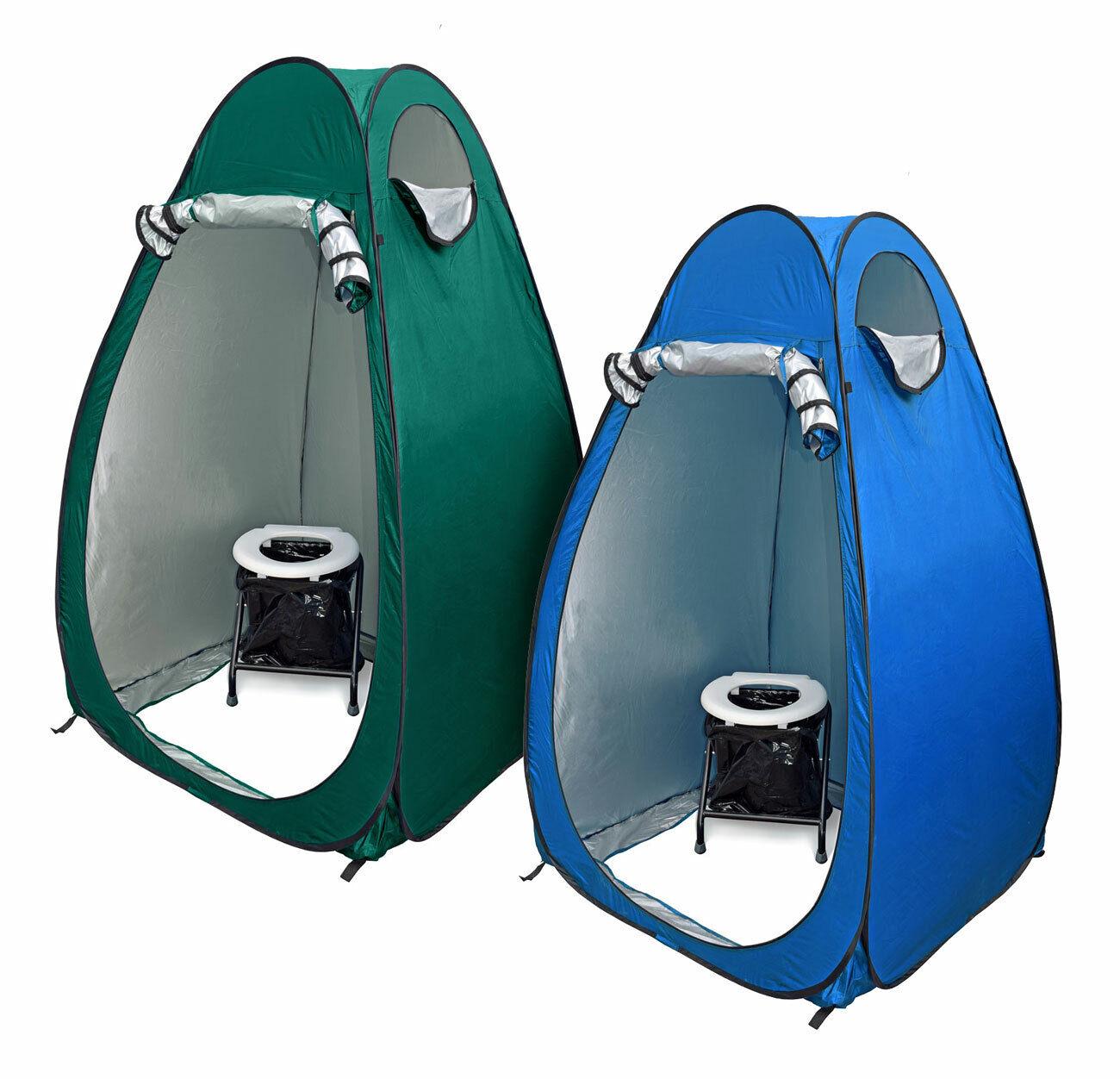 24 Ocean wc borsano set pieghevole TOILETTE autobusTINE popup Tenda duschzelt nello spogliatoio Tenda