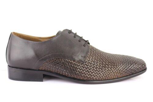 Manz Marron Cuir Lucca D'affaires 155002 Chaussures 02 En Semelle Fr4fFRx