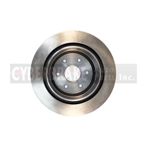 55133 REAR Brake Rotor Pair of 2 Fits 10-13 Chevrolet Cheyenne