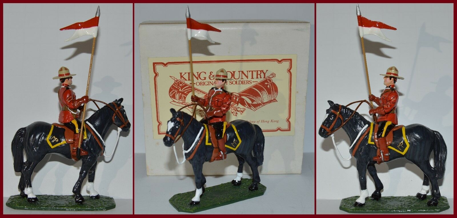King & Country Royal Canadian Mounties Mounted Officer  RB-1045 S6