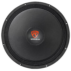 400-Watt-15-034-Raw-DJ-Pro-Audio-Replacement-Subwoofer-Sub-Woofer-8-Ohm