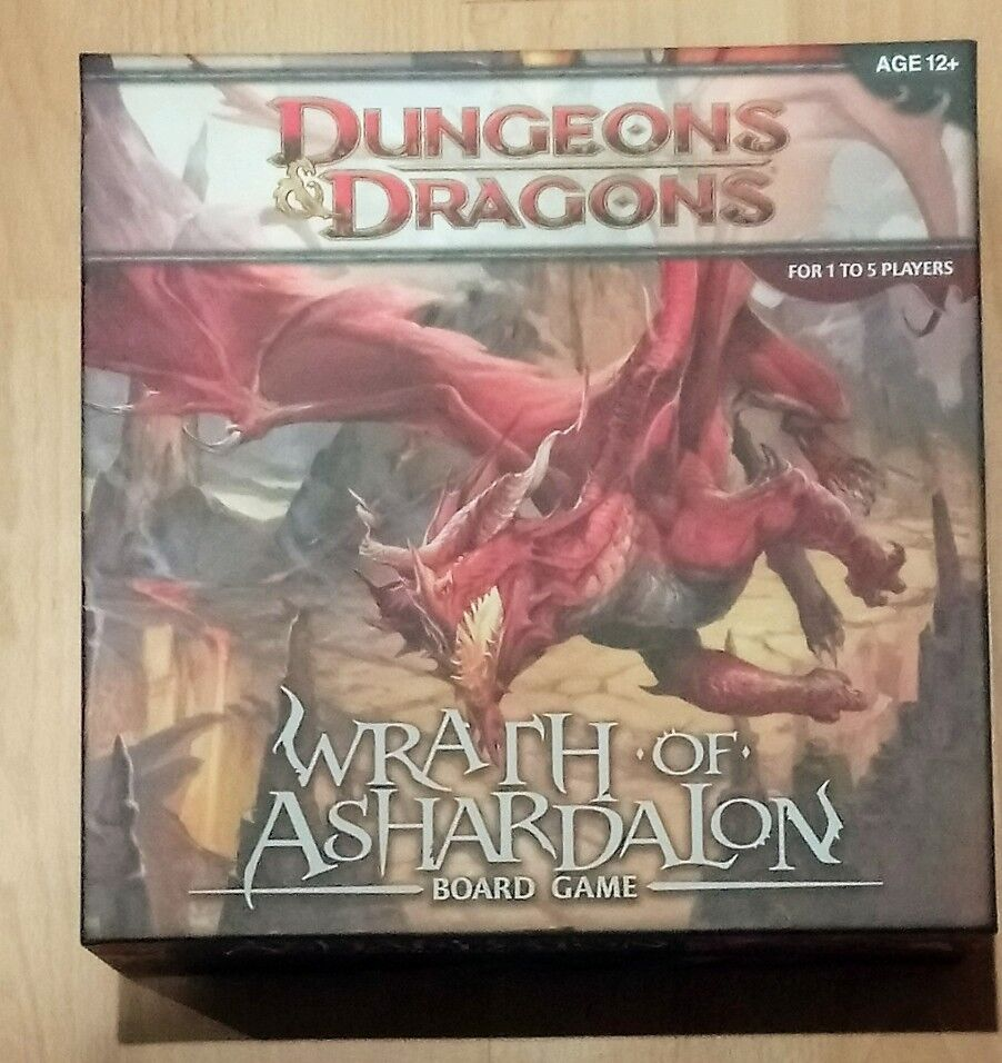 Dungeons and Dragons Wrath of Ashardalon board game