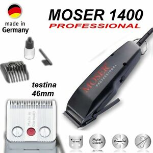 Moser professional product catalog.