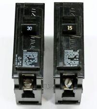 30 Amp 1P Siemens Q130, 1 LOT OF 10 Circuit Breaker- WARRANTY 120 Volt
