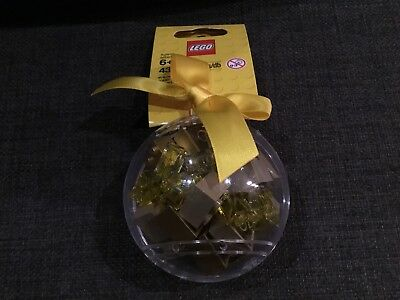 LEGO 853345 Christmas Bauble With Gold  Bricks Complete With Tags
