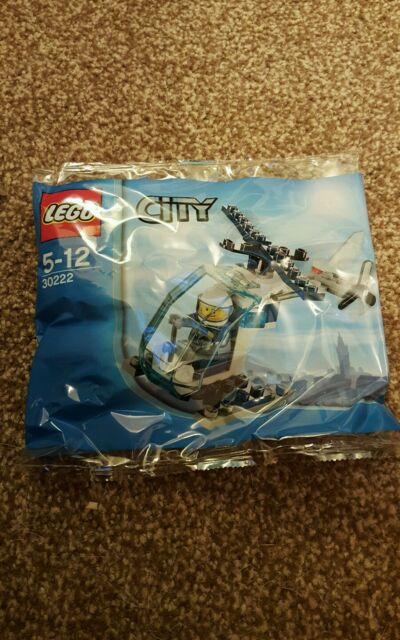 LEGO: CITY: POLYBAG: POLICE HELICOPTER - SET 30222 bnss Last of stock