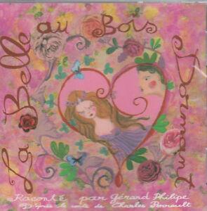 CD-AUDIO-LA-BELLE-AU-BOIS-DORMANT-Gerard-philippe-Charles-Perrault